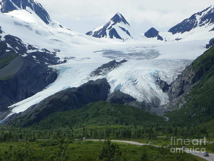 Glacier Photograph - Worthington Glacier by Jennifer Kimberly