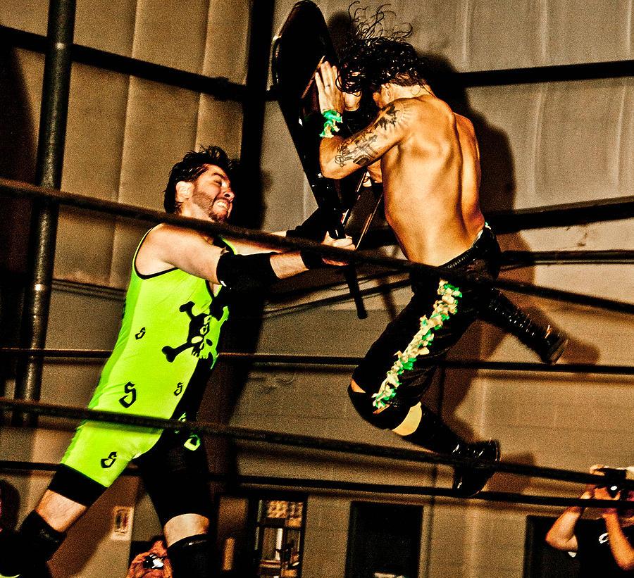 Wrestle Photograph - Wrestling by Brett Kurtz