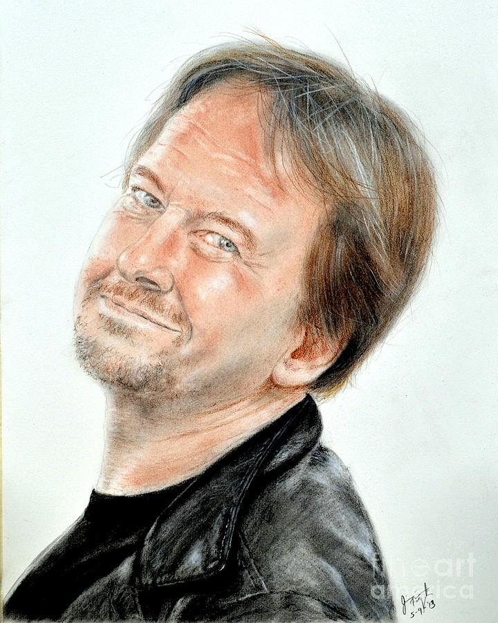 Jim Fitzpatrick Drawing - Wrestling Legend Roddy Piper by Jim Fitzpatrick