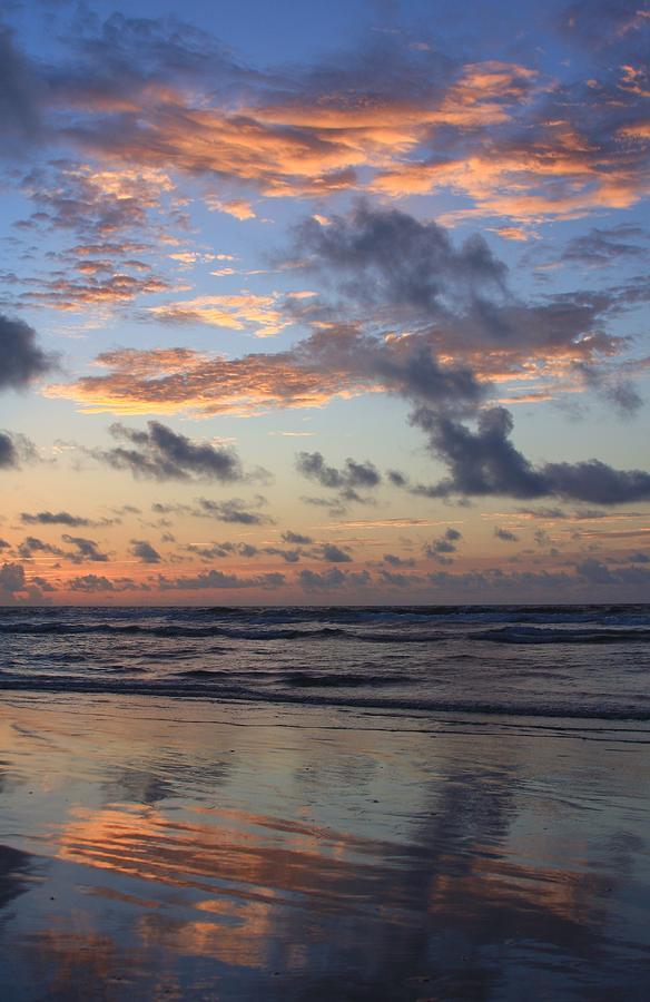Wrightsville Beach Reflection At Sunrise Photograph