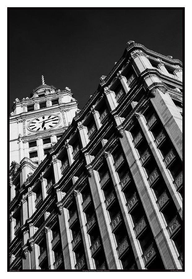 1924 Photograph - Wrigley Building - 05.16.10_144 by Paul Hasara
