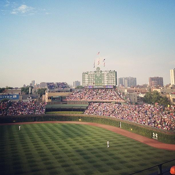 Summer Photograph - Wrigley by Mike Maher