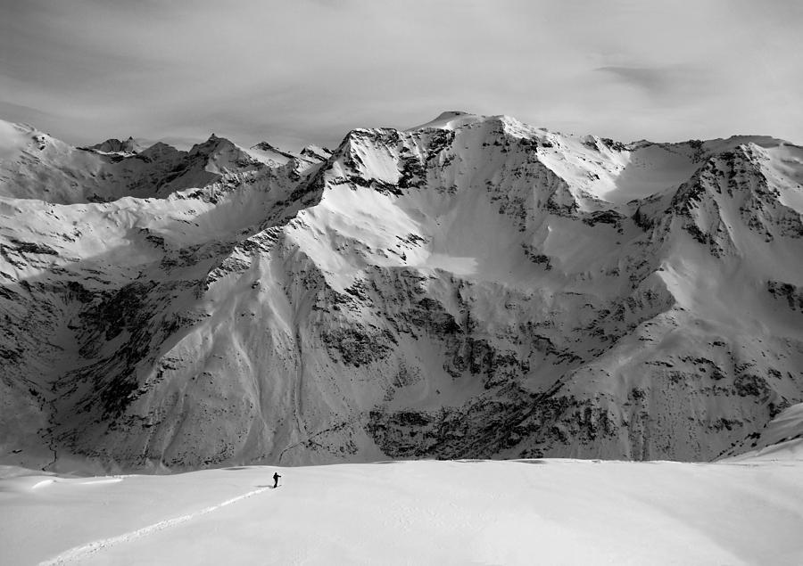 Mountain Photograph - Writing Life Line by Peter Svoboda, Mqep