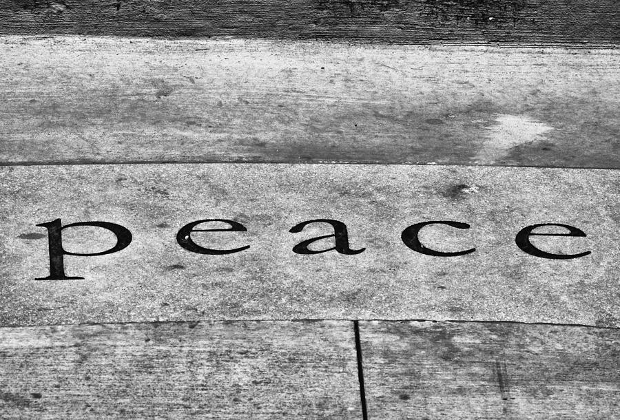 B&w Photograph - Written In Stone by Christi Kraft