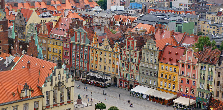 Wroclaw Photograph by Kees Colijn