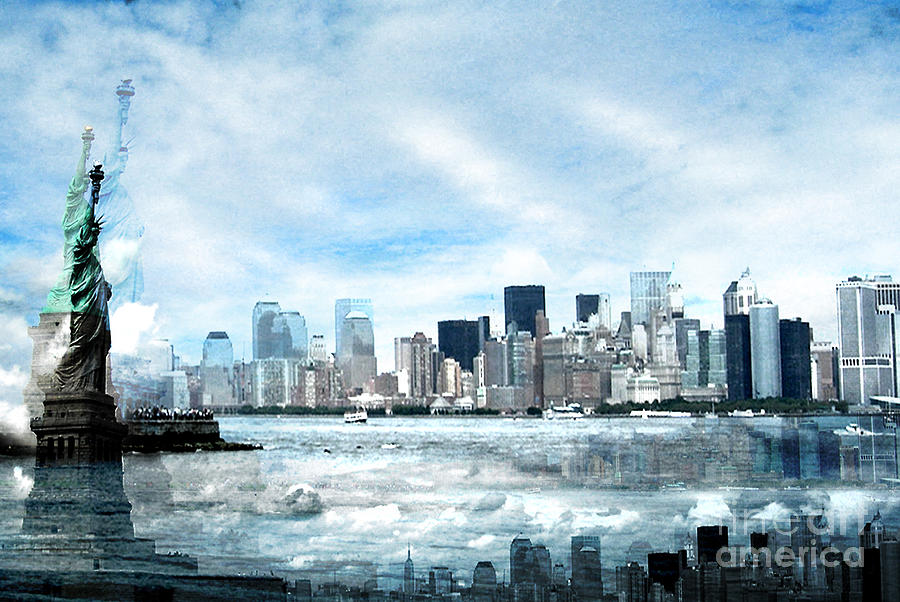New York City Photograph - Wrong Expectations New York City Usa by Sabine Jacobs