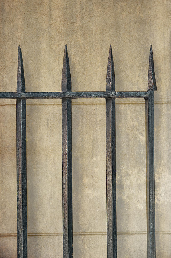 Gate Photograph - Wrought Iron Gate by Brenda Bryant