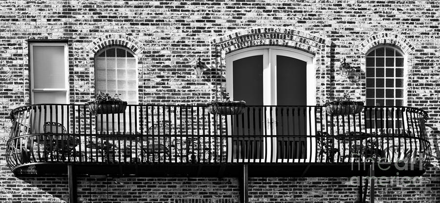 Architectural Photograph - Wrought Iron by Lawrence Burry