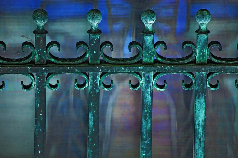 Wrought Iron Photograph - Wrought Iron by Rowana Ray