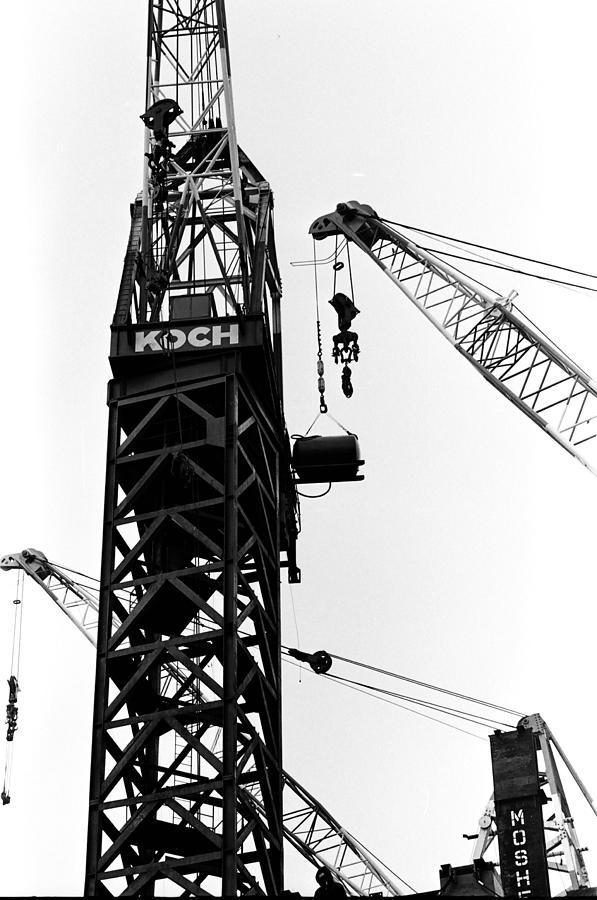 Wtc Photograph - Wtc Fueling Crane  by William Haggart