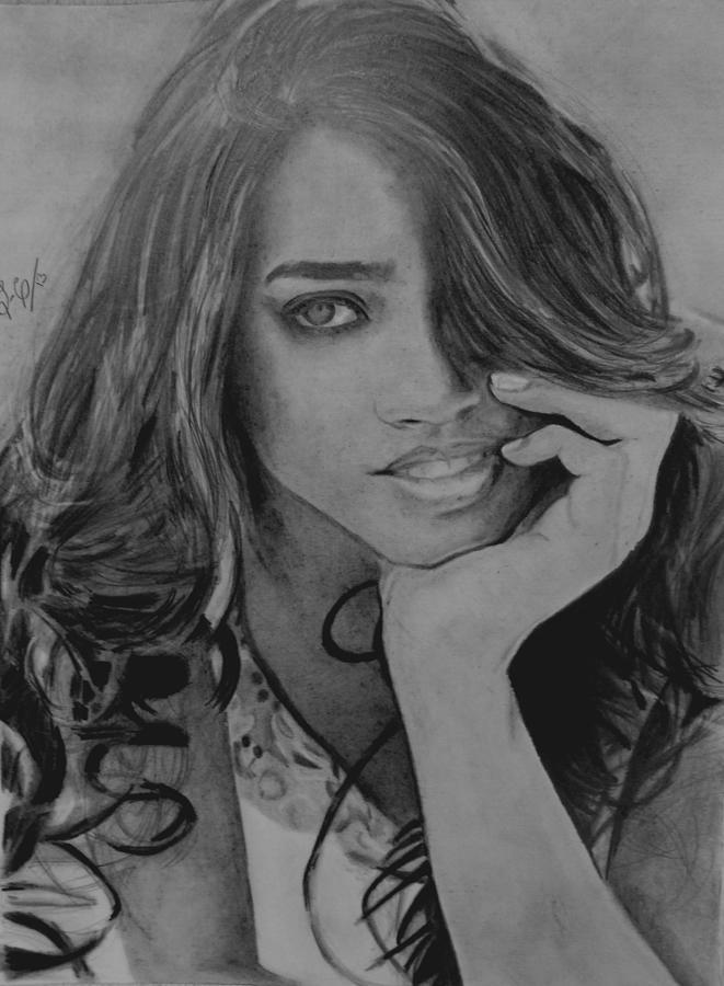 Model Drawing - Wuapa by Luis Carlos A