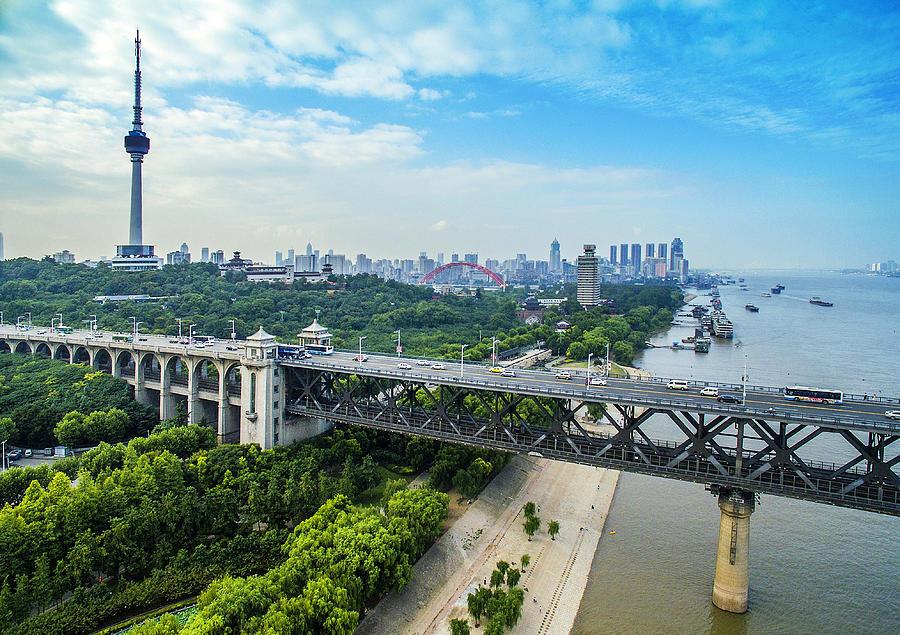 WuHanYangtze River Bridge Photograph by Real444