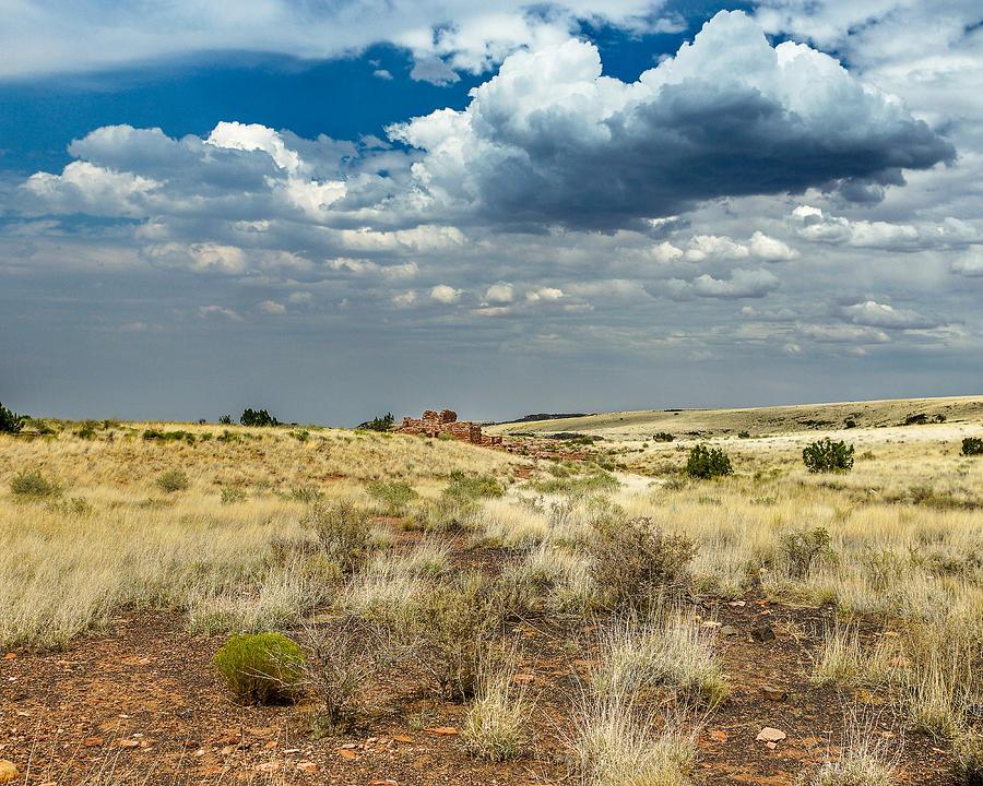 Flagstaff Photograph - Wupatki National Monument Box Canyon Area Ruins by Chris Bordeleau