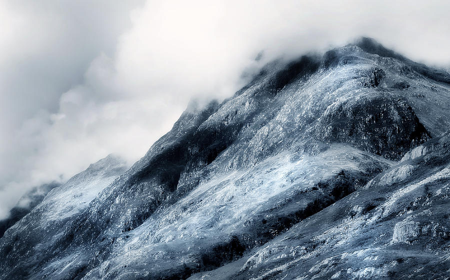 Scotland Photograph - Wuthering Heights. Glencoe. Scotland by Jenny Rainbow