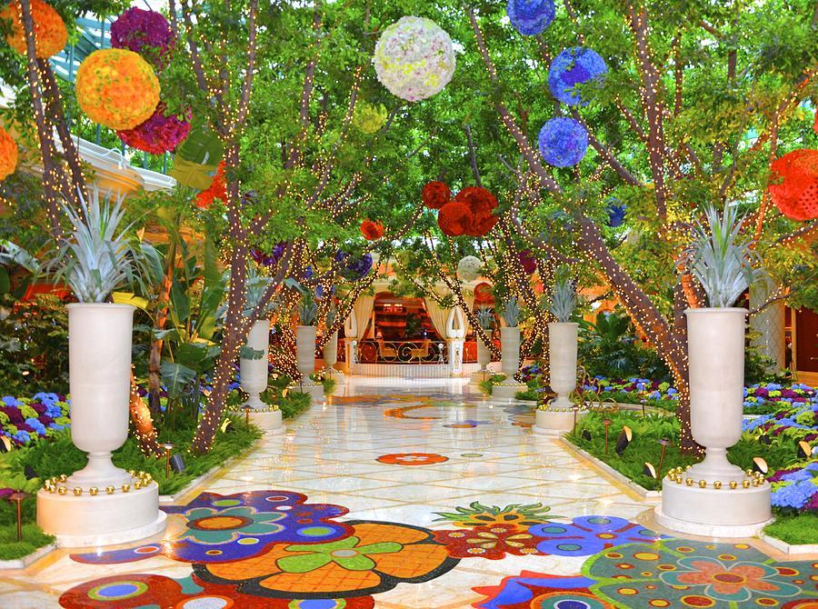 Vegas Photograph - Wynn lobby by Michael Anthony