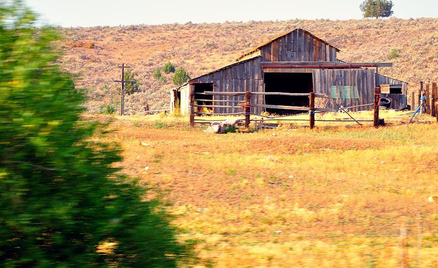 Wyoming Barn 16552 Photograph