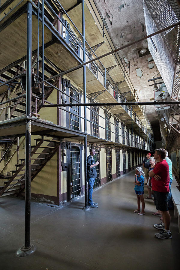 Human Photograph - Wyoming Frontier Prison by Jim West