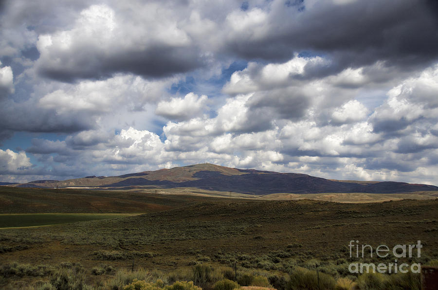 Wyoming Landscape III by Donna Greene