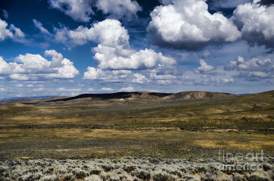 Wyoming Landscape V by Donna Greene