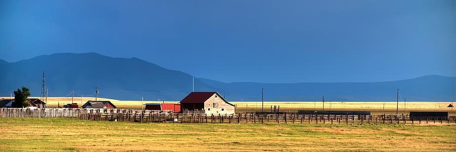Wyoming Range Home 16394 Photograph