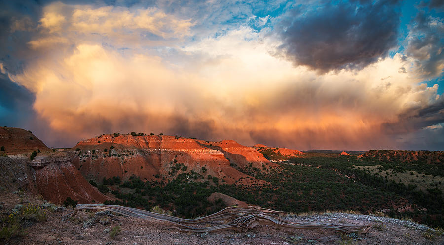 Beauty Photograph - Wyoming Sunset by Leland D Howard