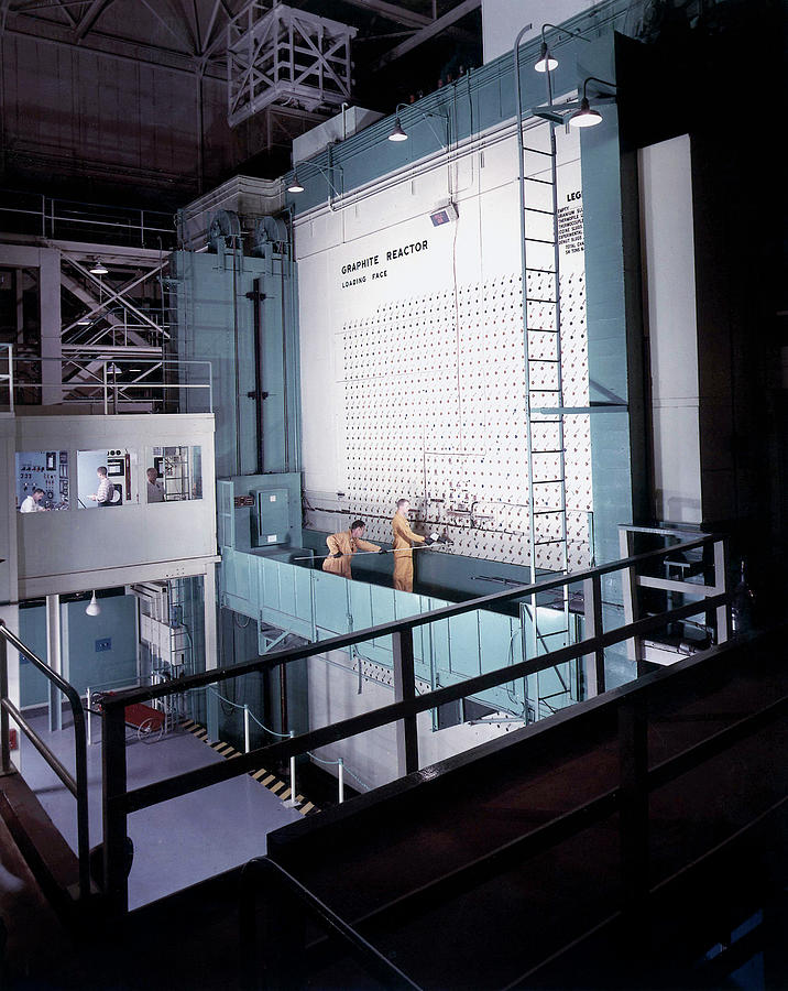 People Photograph - X-10 Graphite Reactor by Us Department Of Energy