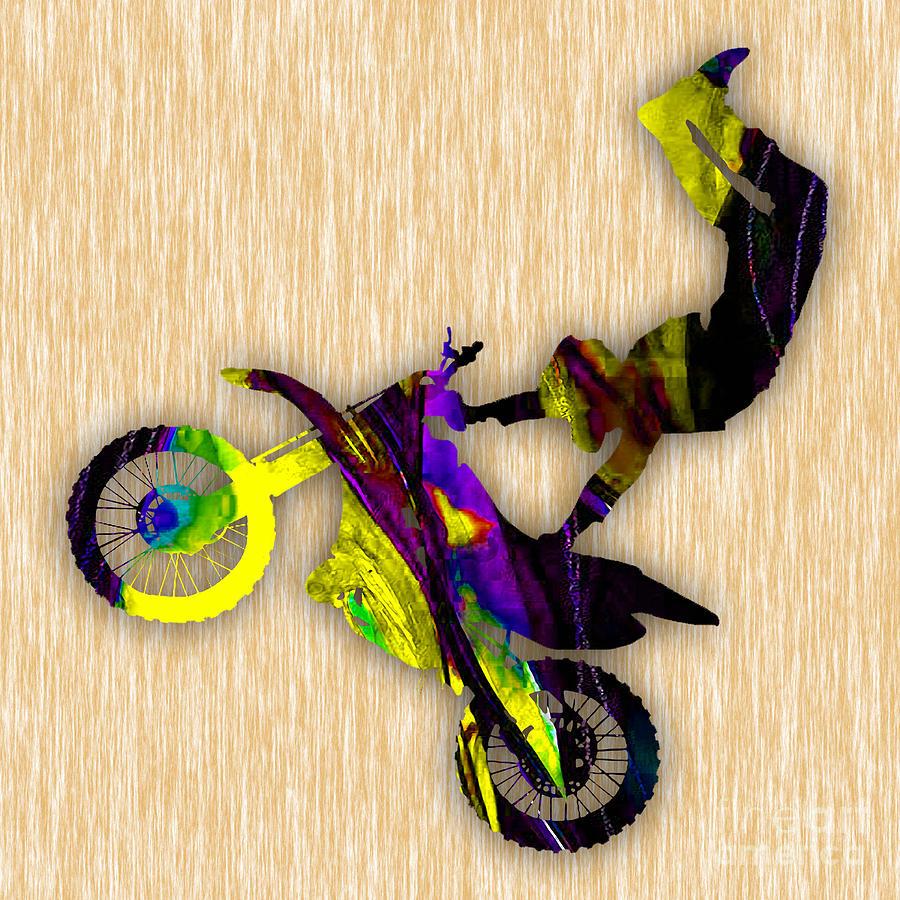 X Games Dirt Bike Stunt Photograph by Marvin Blaine