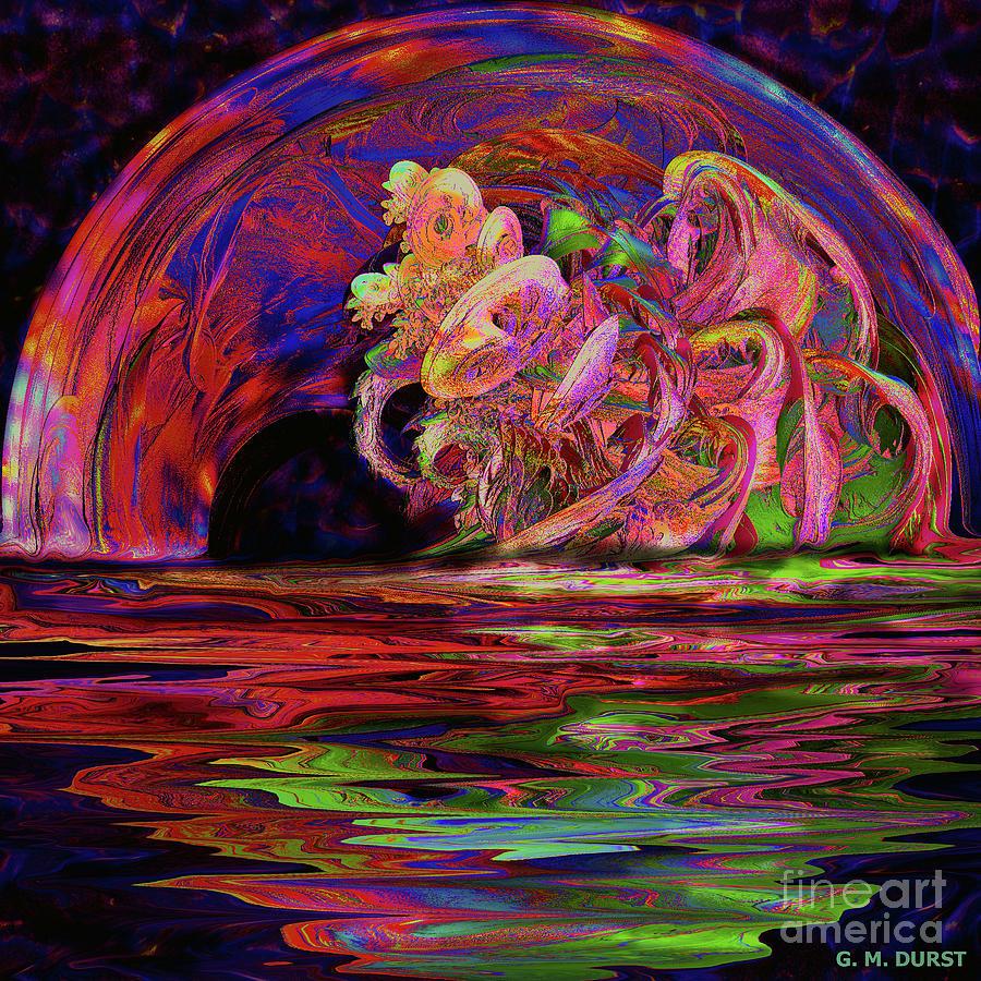 Digital Digital Art - Xanadu Portal by Michael Durst