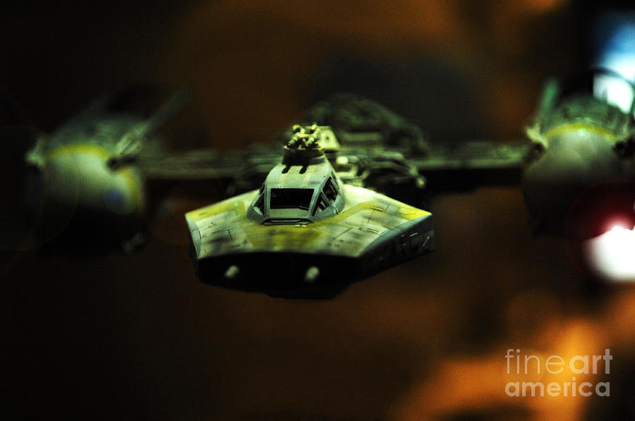 Fighter Photograph - Y Wing Of Star Wars by Micah May
