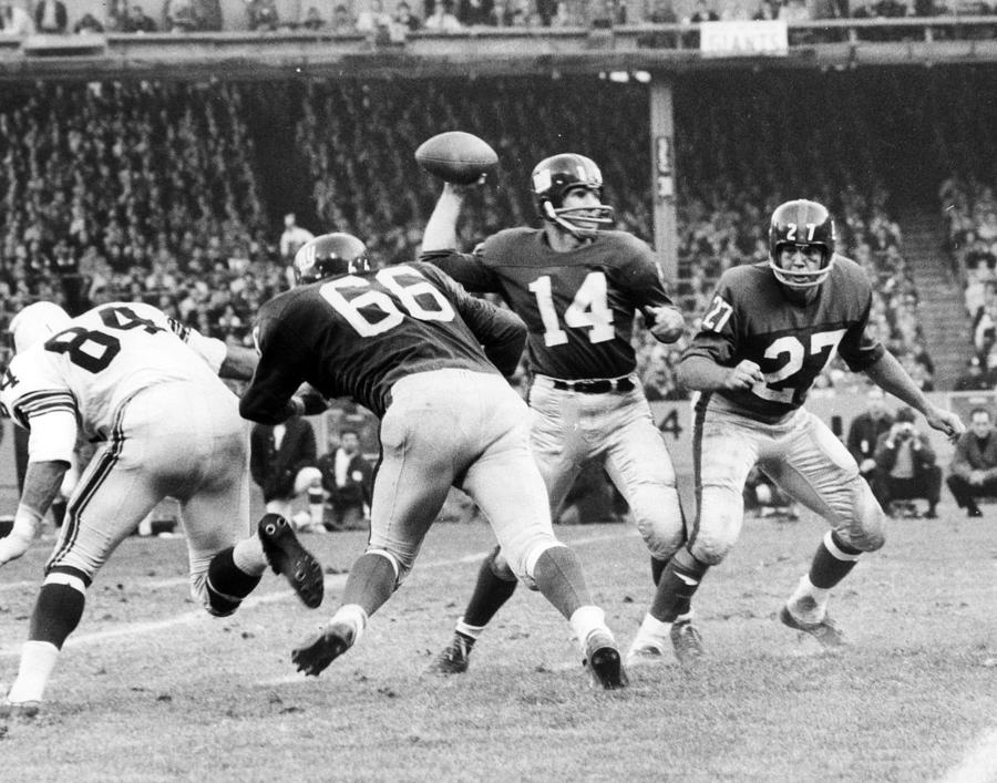 Classic Photograph - Y.a. Tittle by Retro Images Archive