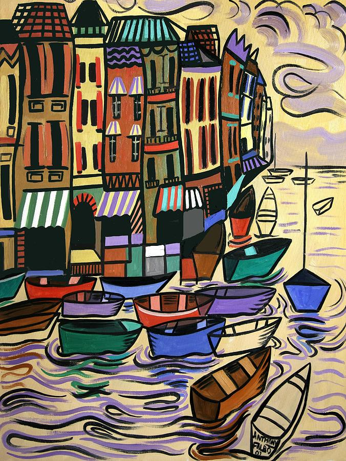 Yachts For Sale Painting