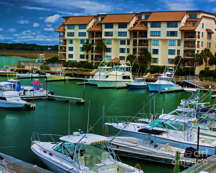 Boat Photograph - Yachts Of The Rich And Famous by Dave Bosse
