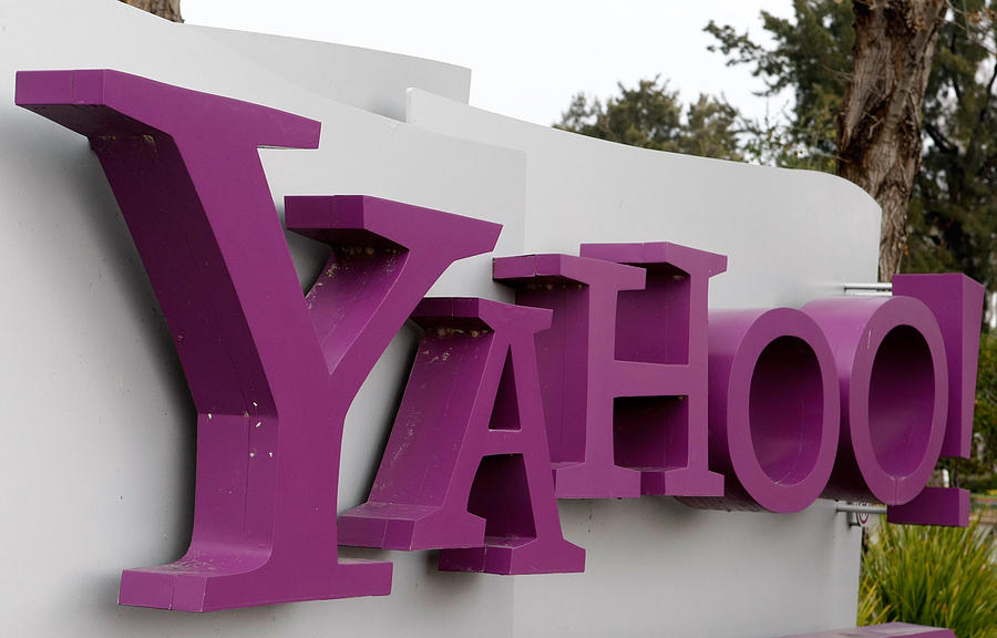 Yahoo Reportedly Considering Laying Off Hundreds Photograph by Justin Sullivan