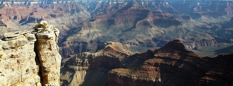 Grand Canyon Photograph - Yaki Point Grand Canyon by Gilbert Artiaga