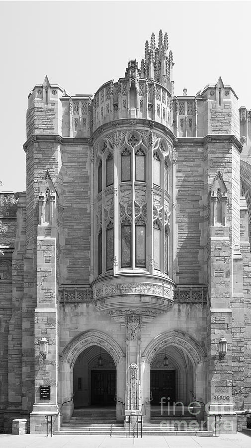 Connecticut Photograph - Yale University Sterling Law Building by University Icons