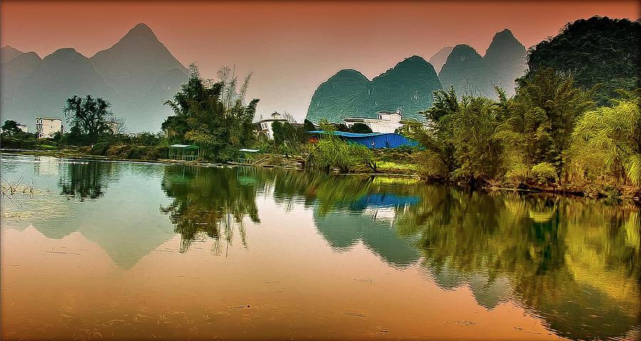 Yangshuo, China Photograph by Fabrizio Massetti