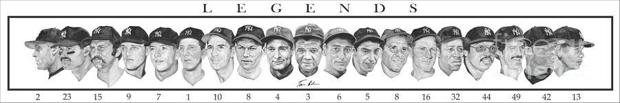 New York Yankees Painting - Yankees by Tamir Barkan