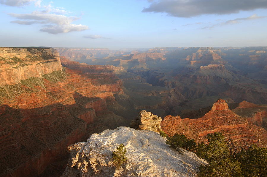 Grand Canyon Photograph - Yavapai Point Morning by Stephen  Vecchiotti