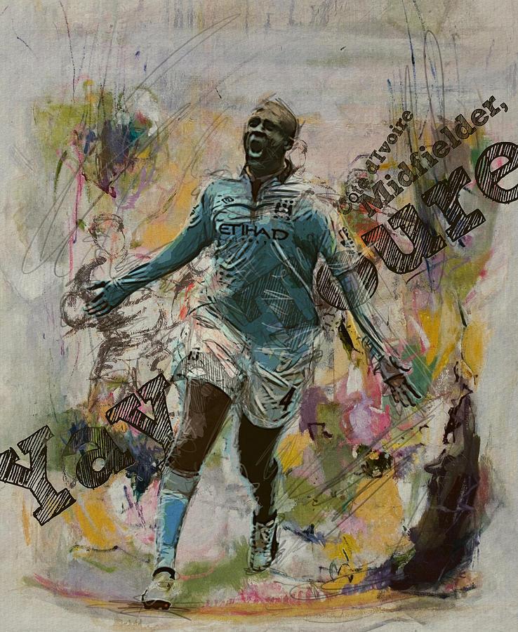 Yaya Toure Painting - Yaya Toure by Corporate Art Task Force