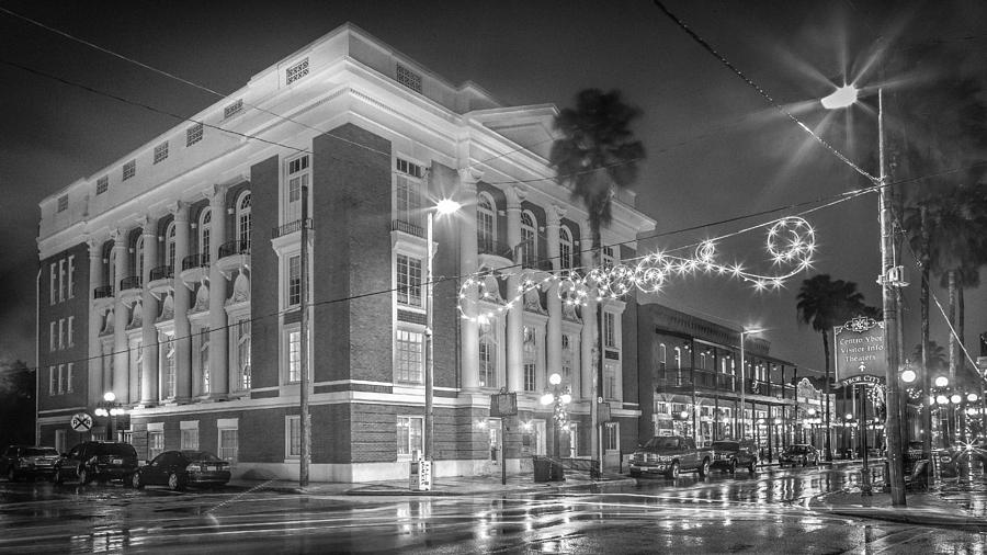 Ybor Photograph - Ybor City Italian Club by Ybor Photography