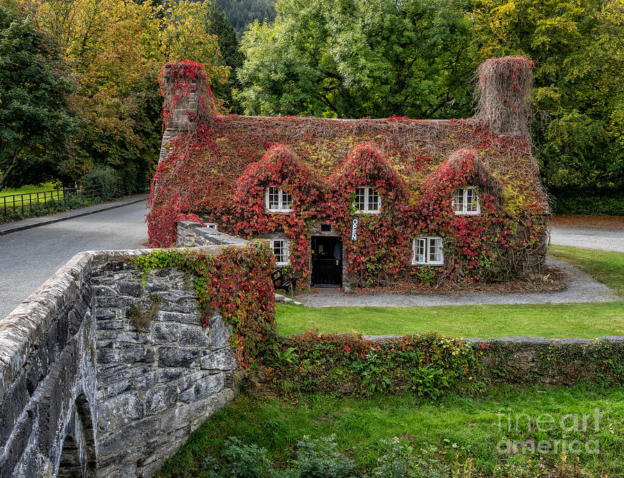 15th Century Photograph - Ye Olde Courthouse by Adrian Evans