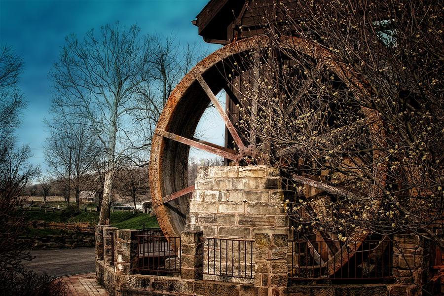 Utica Photograph - Ye Olde Mill by Tom Mc Nemar