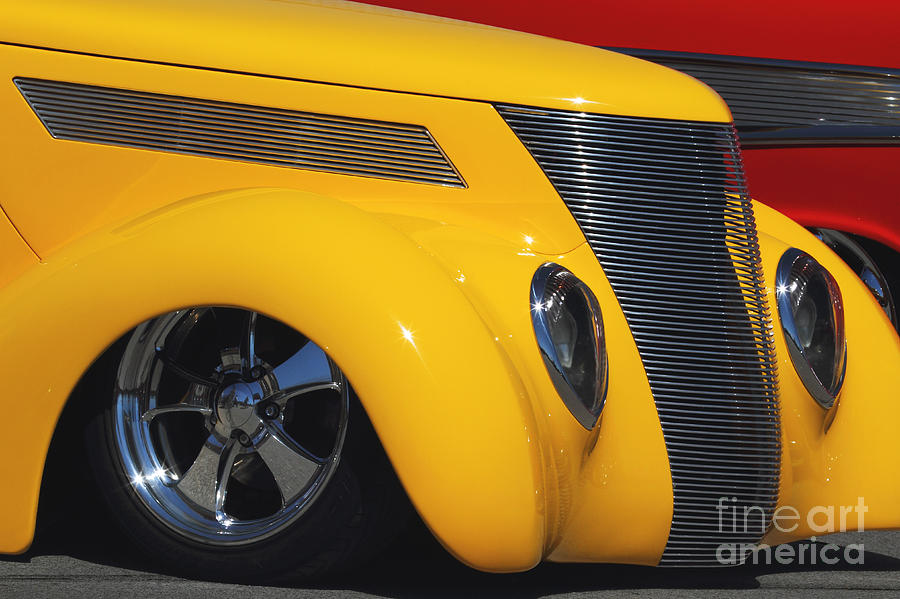 Transportation Photograph - Yellow 37 by Dennis Hedberg