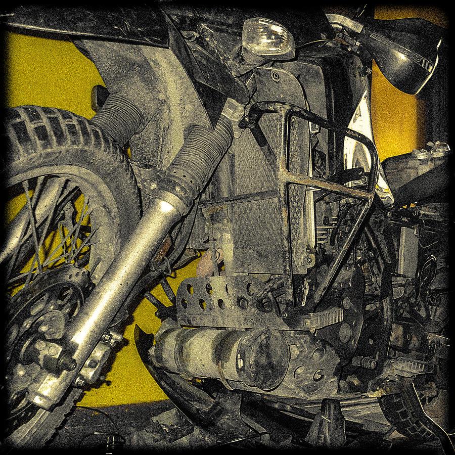 Kawasaki Photograph - Yellow And Metal by Tyler Lucas