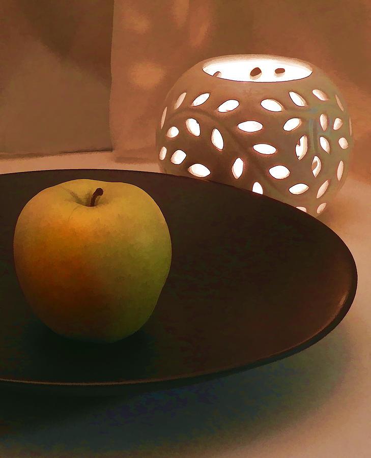 Yellow Apple Photograph