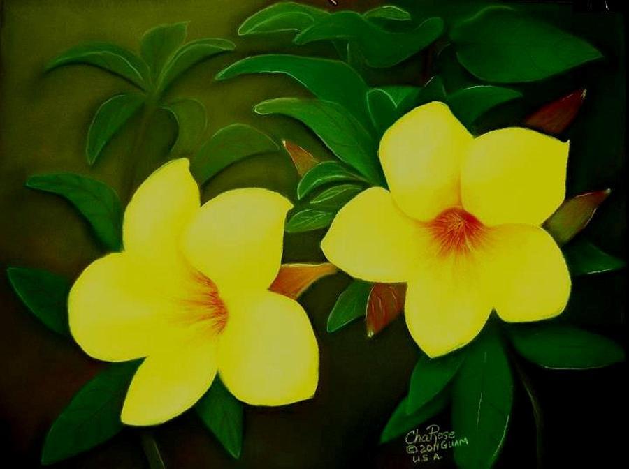 Yellow Bell Drawing By Charito ChatRose Mahilum