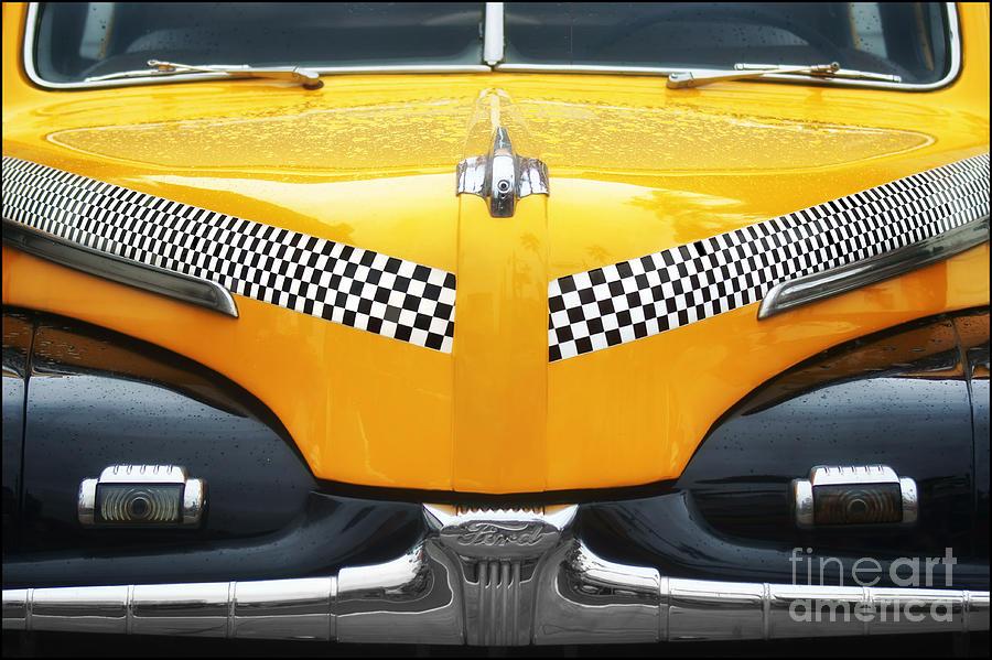 Taxi Photograph - Yellow Cab - 1 by Nikolyn McDonald