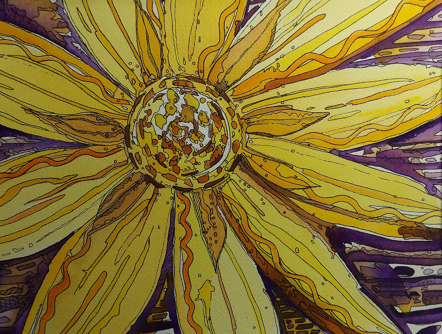 Yellow Chakra by Terry Holliday
