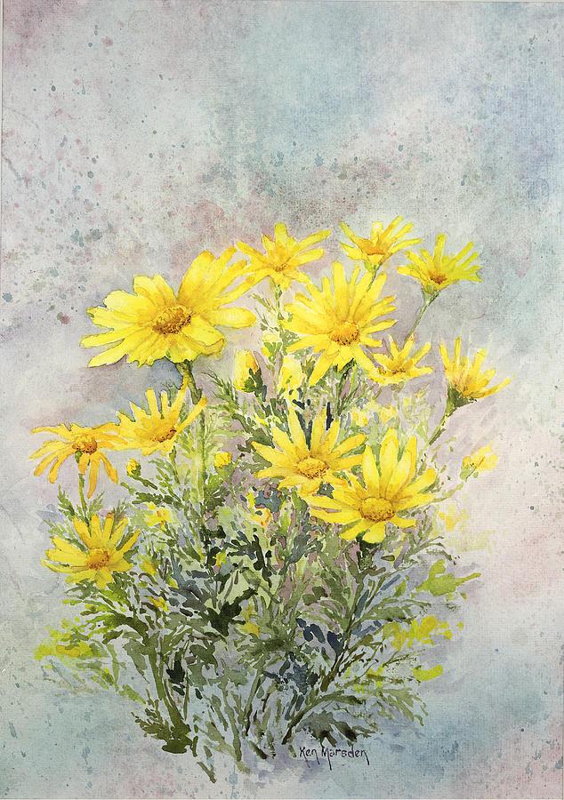 Yellow Daisies by Ken Marsden