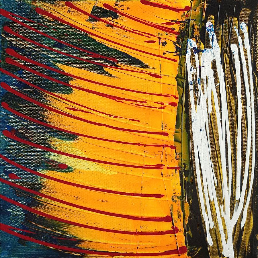 Yellow Painting - Yellow Express by Rob Van Heertum